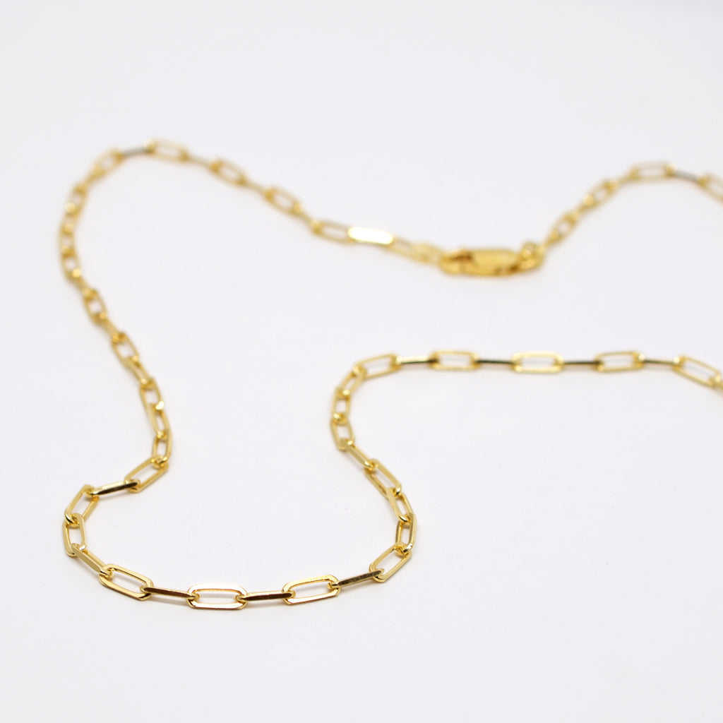 Paperclip Chain - Gold
