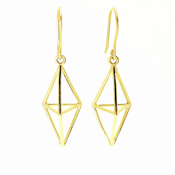 Aria Himmeli Earrings Gold