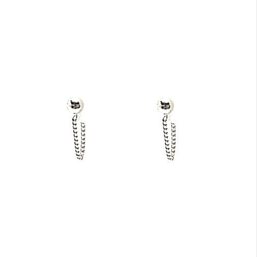 Sanva Earrings - Silver
