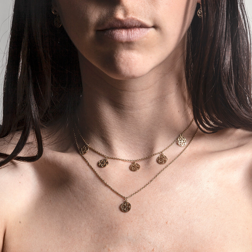 Unify Necklace - Gold