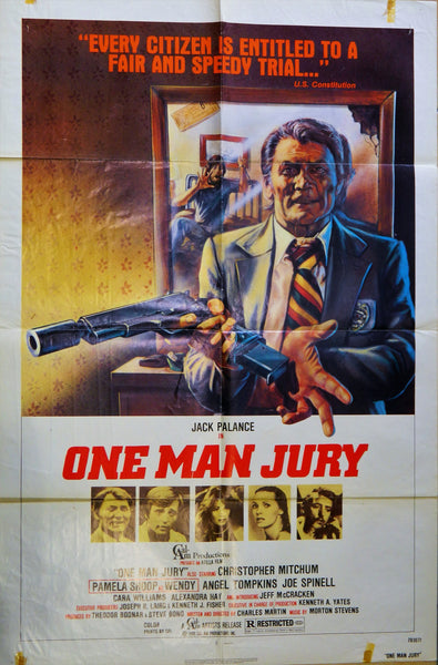 New - One Man Jury Original Poster 1978