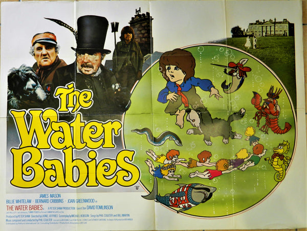 New - The Water Babies Original Poster 1978
