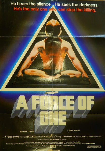 New - The Force of One Original Poster 1979
