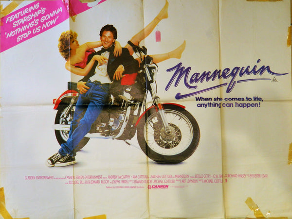 New - Mannequin Original Poster 1987