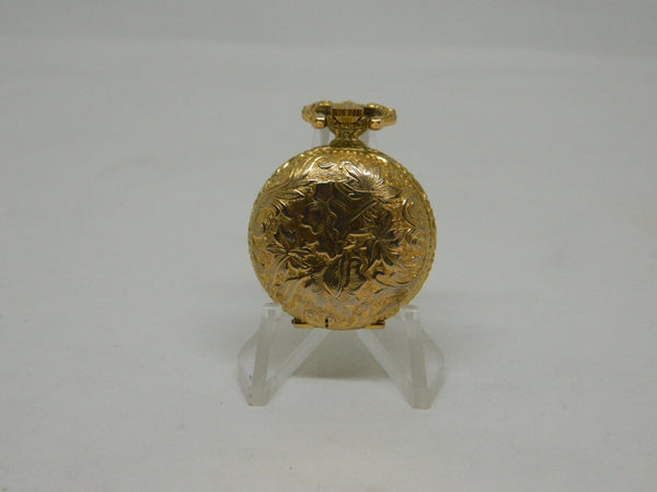 Gold Plated Bueler Ladies Fob Watch