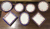 Quality, Edwardian Desert Set - Adderlys - Fine Bone China.