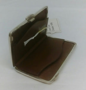 Sterling Silver Calling Card Case - Chester - 1908