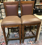 Pair of Modern Pub quality Large high Stools.
