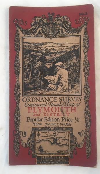 Ordnance Survey - Plymouth & District.