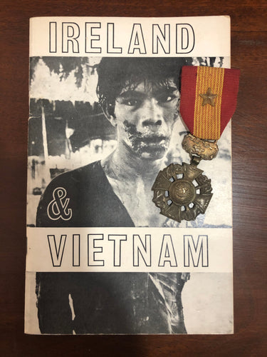 Republic of Vietnam Gallantry Cross & Irish Vietnam Book.