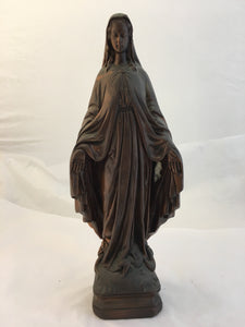 "Vintage Plaster Statue - ""Our Lady"""