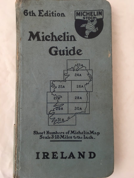 Map - Michelin Touring guide - Ireland.
