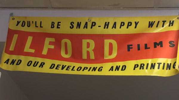 Ilford films Vinyl Sign