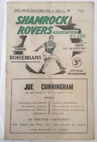 Shamrock Rovers Vs Bohemians -1954