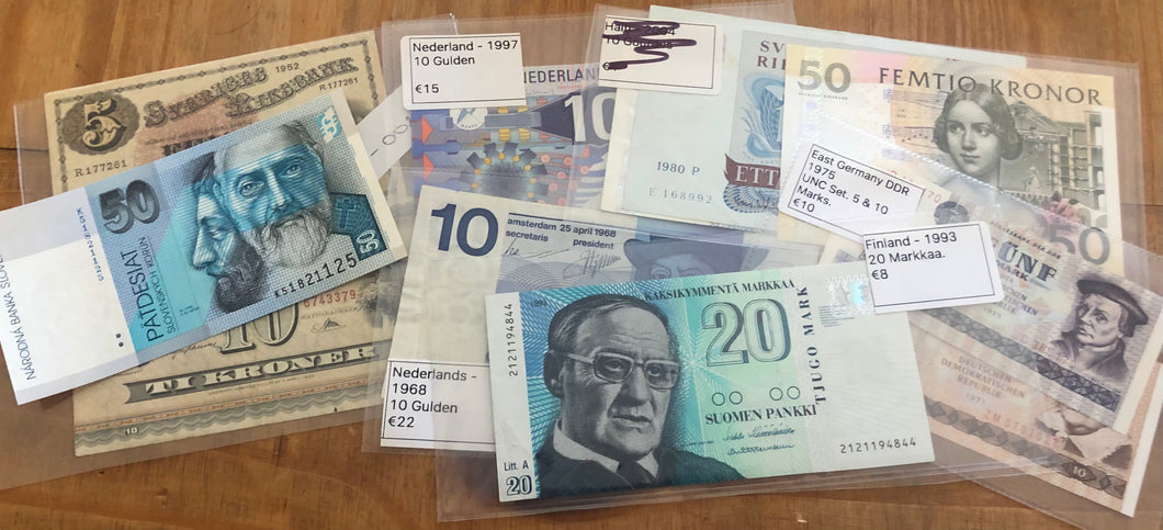 Tony Banknotes - April 2021.