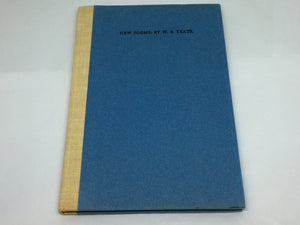 New Poems - W.B. Yeats - Cuala Press Reprint - 1970