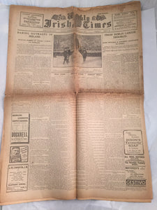 The Weekly Irish times - November 22 - 1919 - War of Independence.