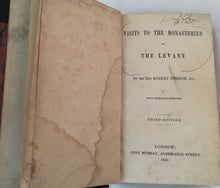 Monasteries of the Lavant - Robert Curzon Jr - 1850 - First Ed.