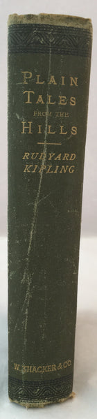 Plain Tales from the Hills - Rudyard Kipling - Second Edition