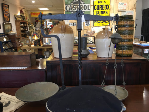 Large Cast Iron Weighing scales