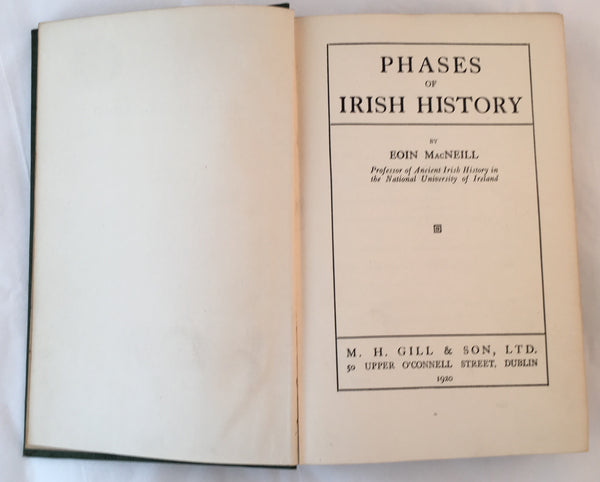 Phases of Irish History - Eoin McNeill