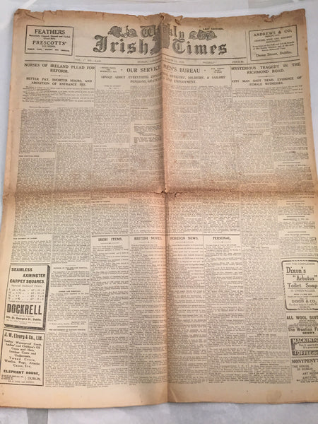 The Weekly Irish Times - 15-03-1919 - WW1 & War of Independence.