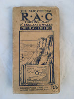 RAC Touring map of England & Wales