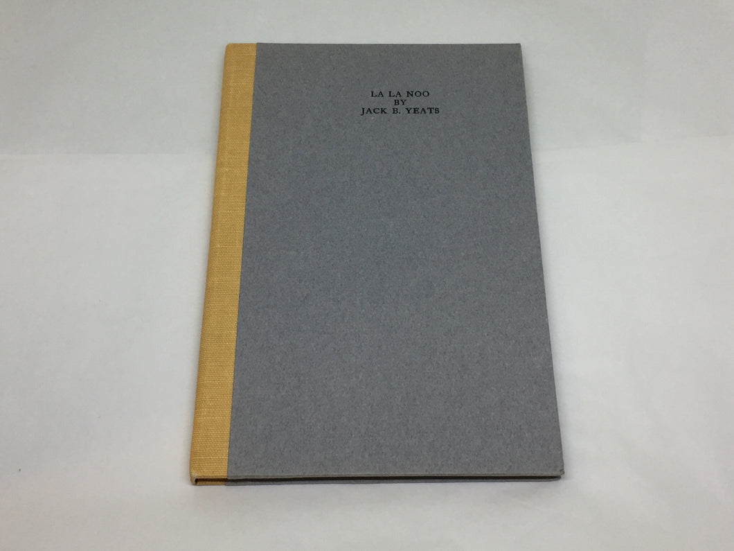 La La Noo - Jack B. Yeats - Cuala Press Reprint - 1971
