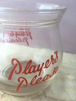 Players Please Glass Water Jug.
