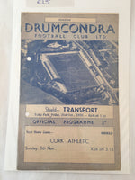 Drumcondra Vs Cork Athletic - 1955