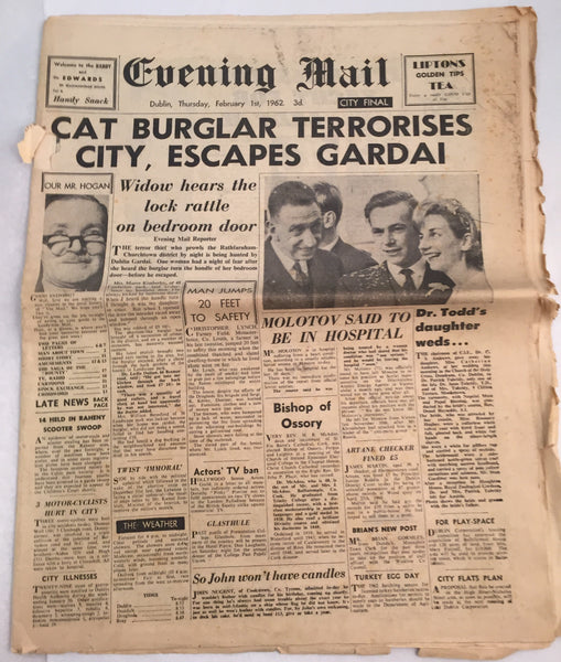 Evening Mail - 01-02-1962