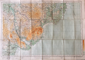 Ordnance Survey of Ireland Map - Newry