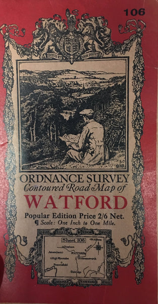 Ordnance Survey Map - Watford
