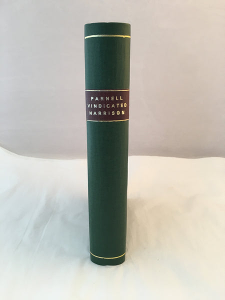 Parnell Vindicated - The Living of the Veil - Henry Harrison. 1st Edition.
