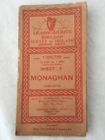 Ordnance Survey of Ireland Map - Monaghan