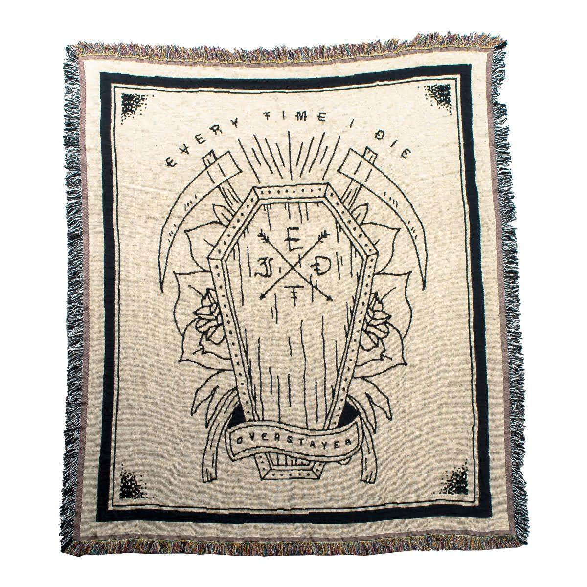 Every Time I Die - Throw Blanket - MerchLimited - 1