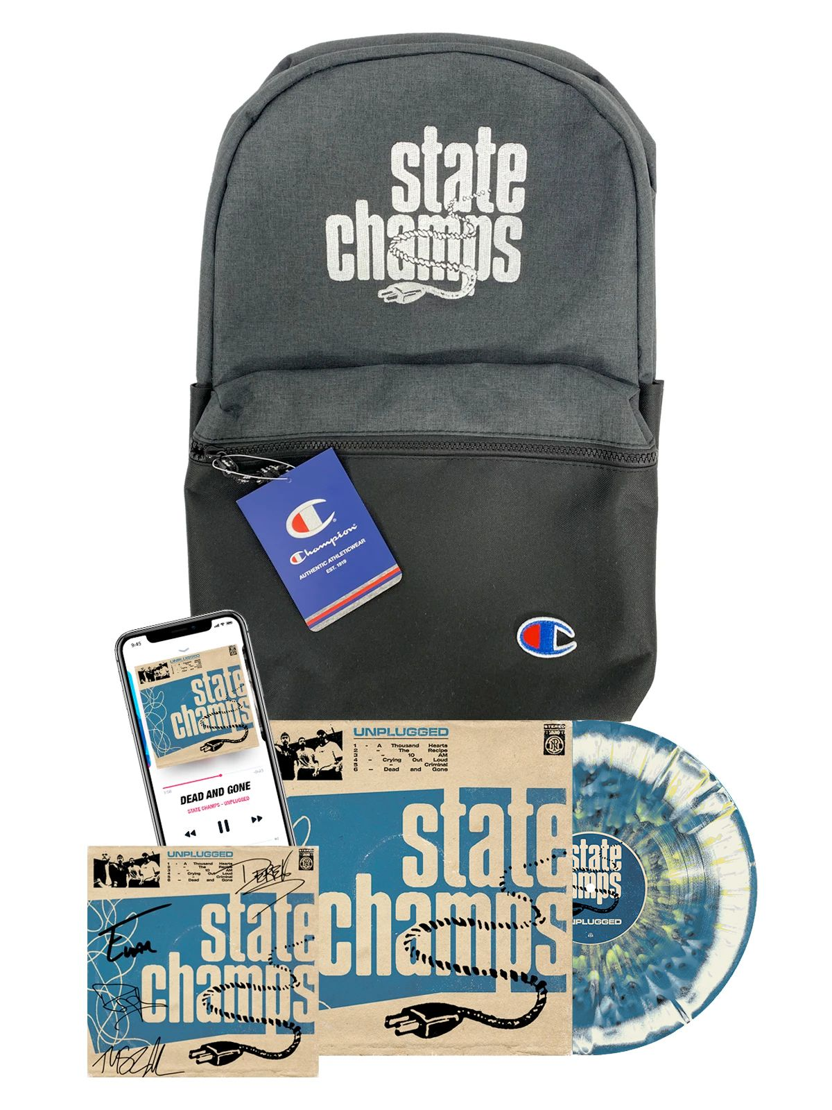 State Champs - Unplugged Bundle #2 (PN1 Vinyl Variant) - SHIPS AUGUST 30