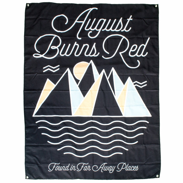 August Burns Red - Far Away Places Wall Flag - MerchLimited - 2
