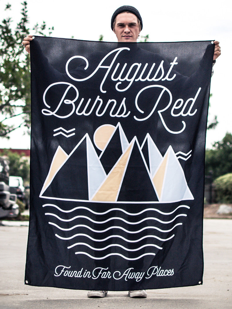 August Burns Red - Far Away Places Wall Flag - MerchLimited - 1