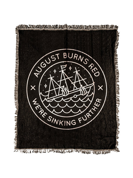 August Burns Red - Sinking Woven Blanket - Merch Limited
