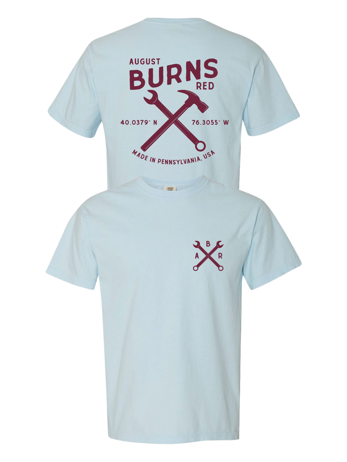 August Burns Red - Made In PA Shirt - SHIPS MARCH 31 - Merch Limited