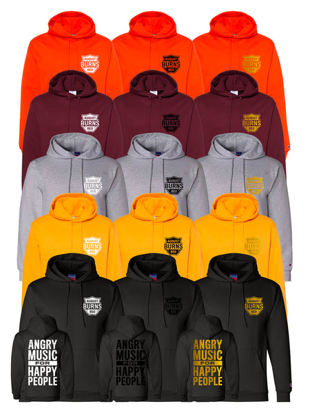 August Burns Red - Angry Music Champion Hoodie - SHIPS OCTOBER 9