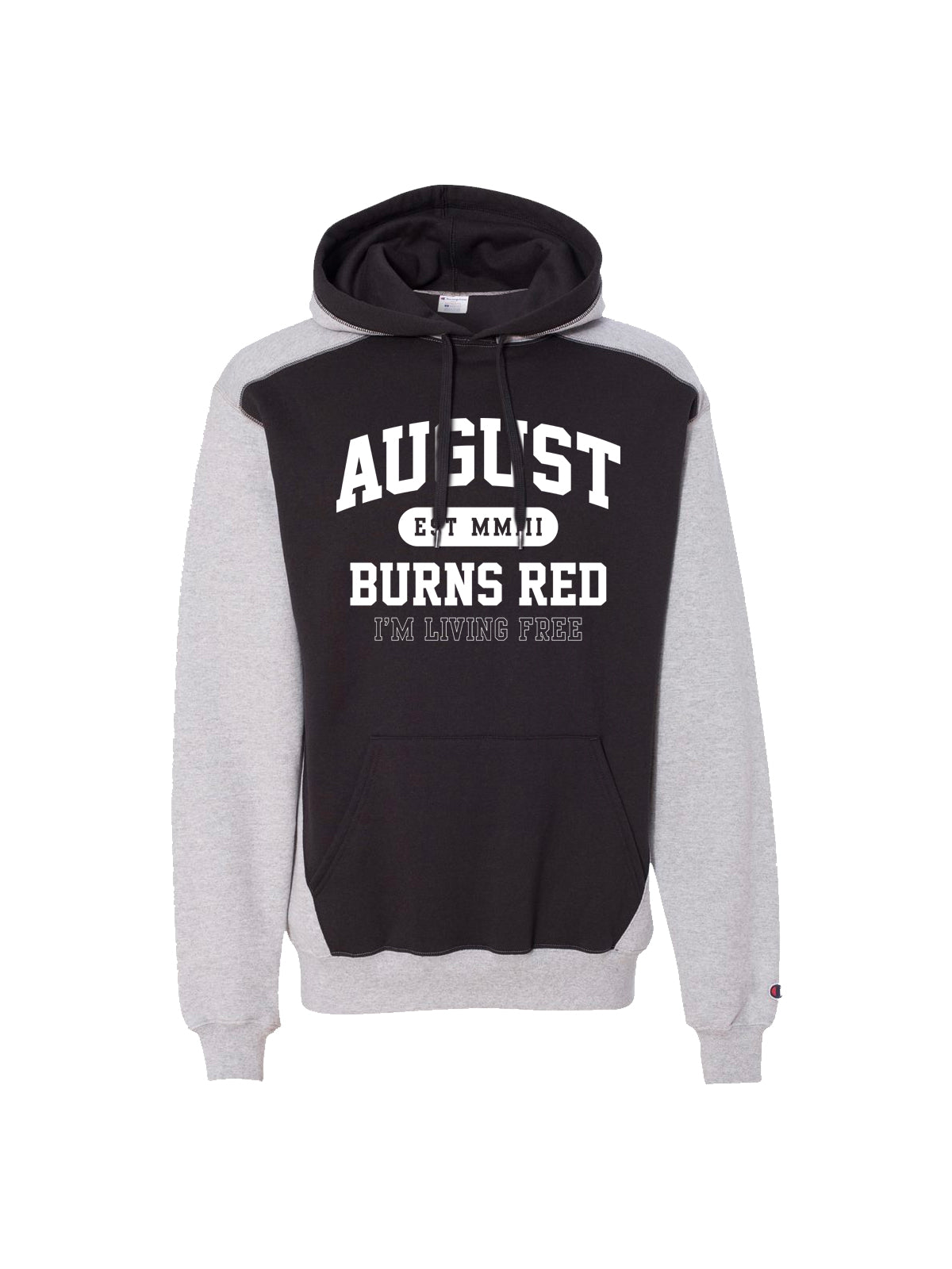 August Burns Red - I'm Living Free Champion Hoodie - Merch Limited