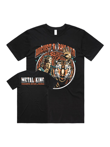 August Burns Red - Metal King Shirt - SHIPS MAY 11 - Merch Limited