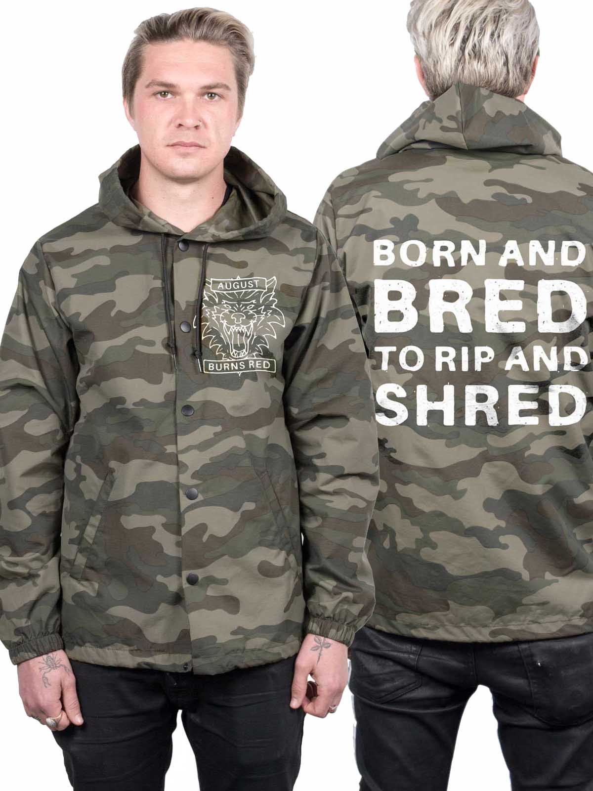 August Burns Red - Rip and Shred All Weather Jacket - Merch Limited