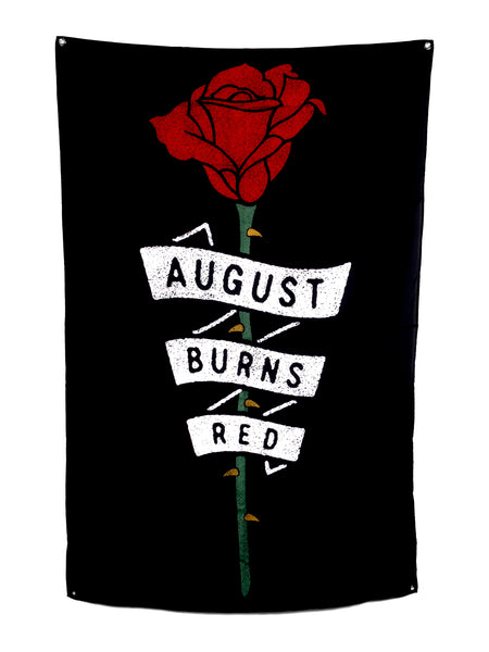 August Burns Red - Rose Wall Flag - Merch Limited