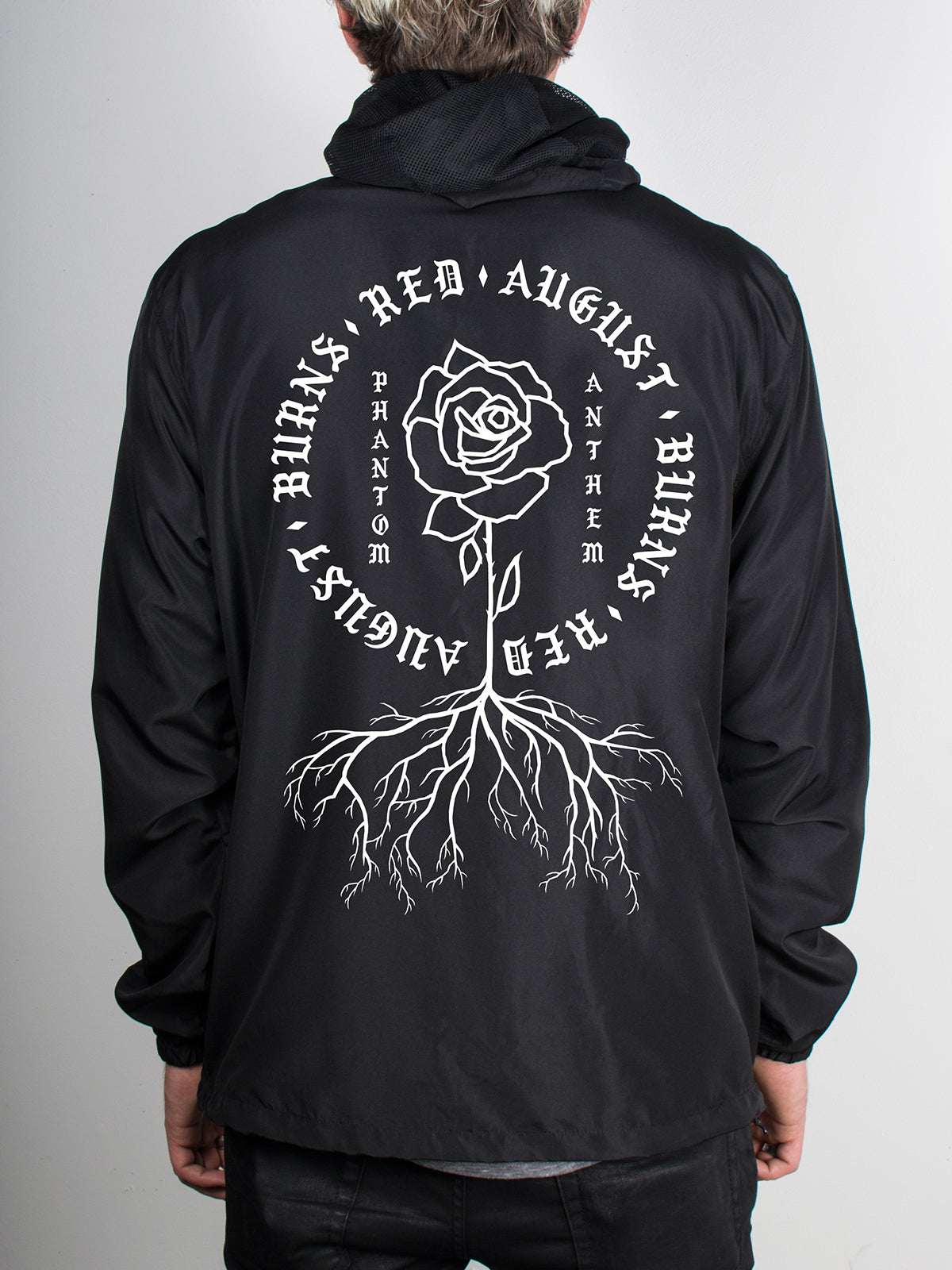 August Burns Red - Phantom Anthem Zip-Up Windbreaker