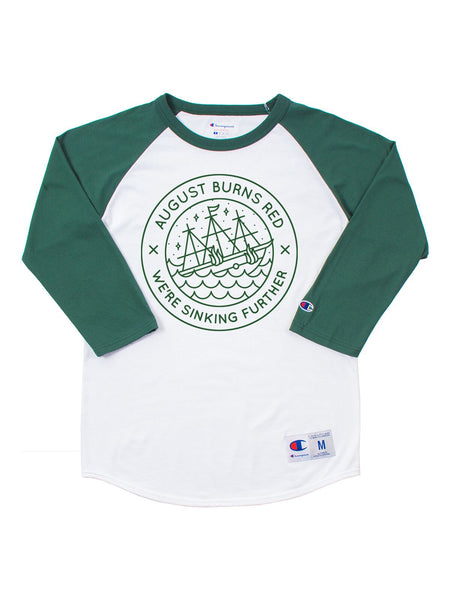 August Burns Red - We're Sinking Further Raglan - Merch Limited