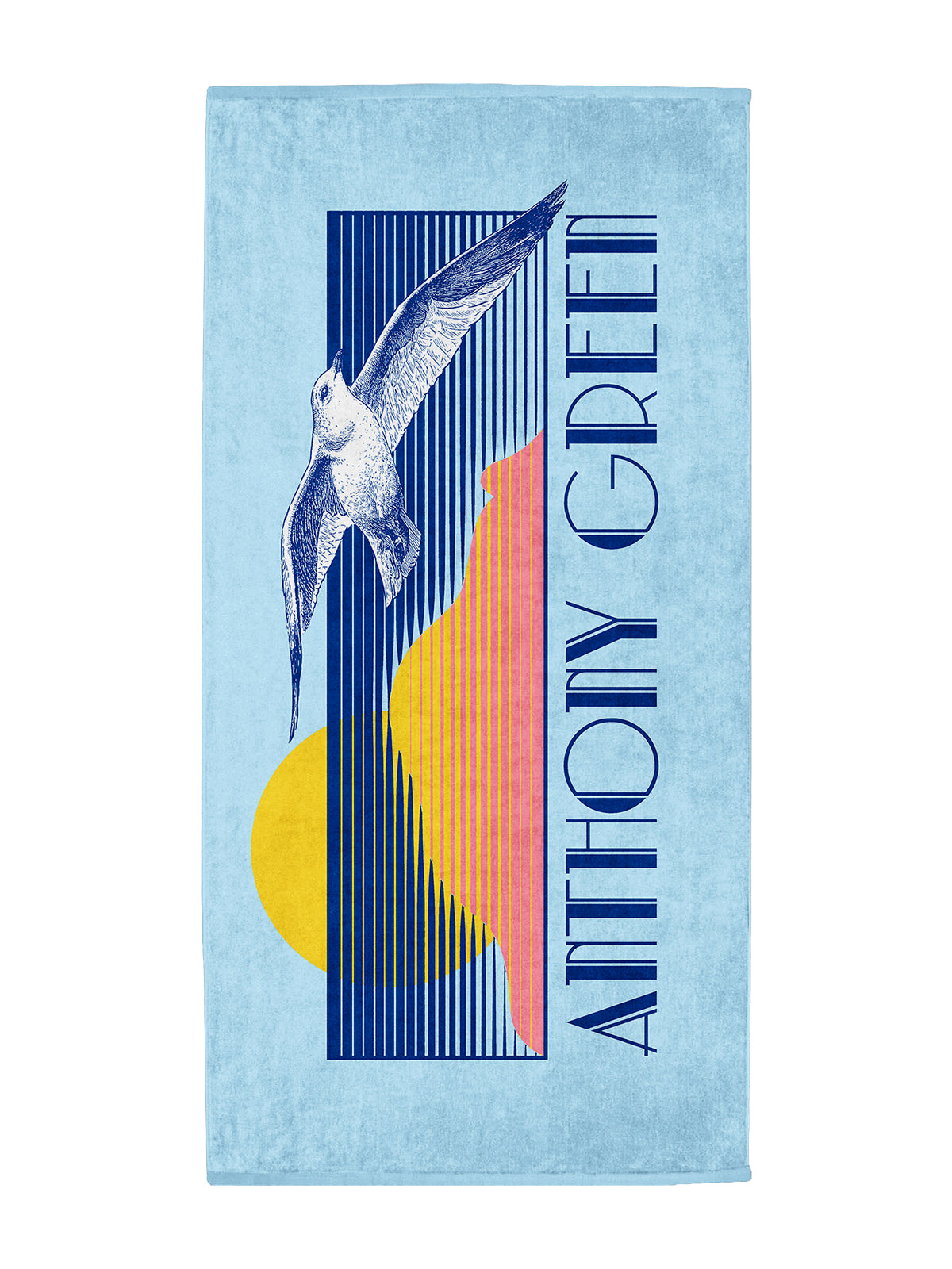 Anthony Green - Beach Towel - Merch Limited