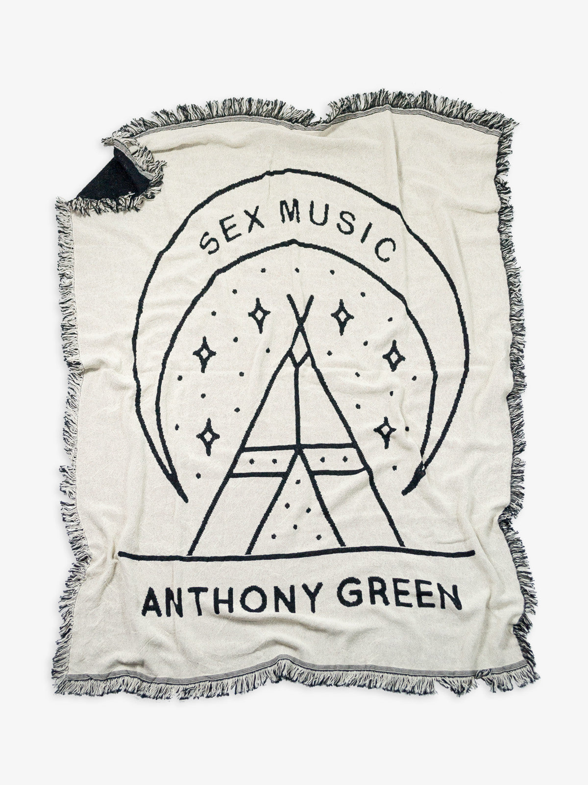 Anthony Green - Sex Music Woven Blanket - Merch Limited